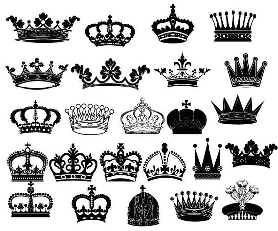 Crown king clip art picture library Crown Clipart // King Queen Crown Clip Art // Royal by BlueGraphic ... picture library