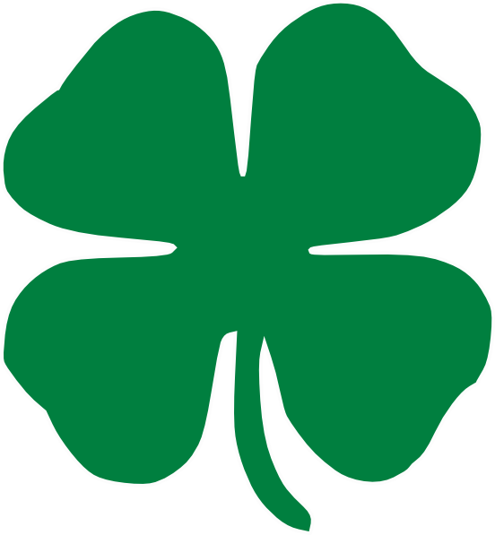 Crown leaf clover clipart.  collection of h