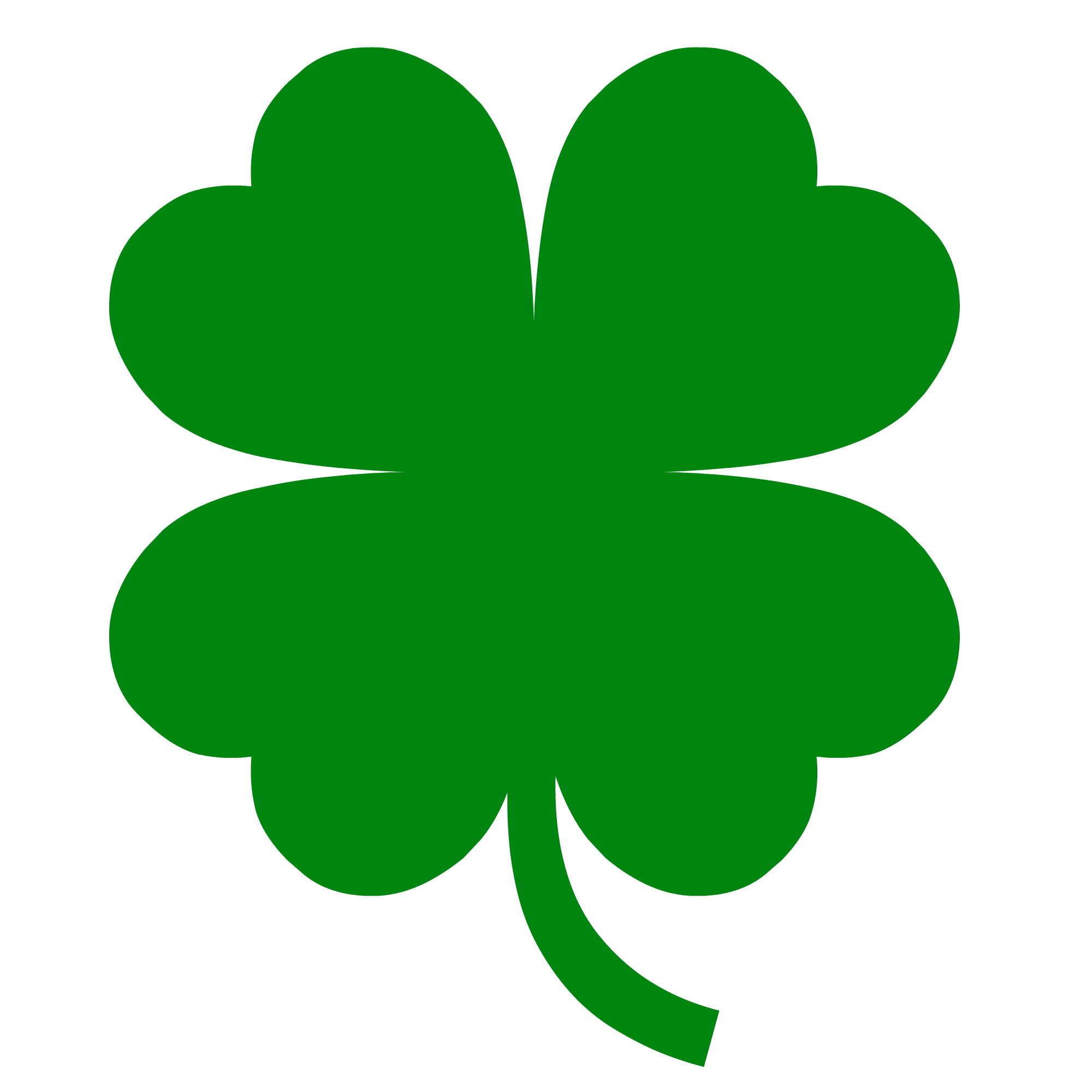 collection of high. Crown leaf clover clipart