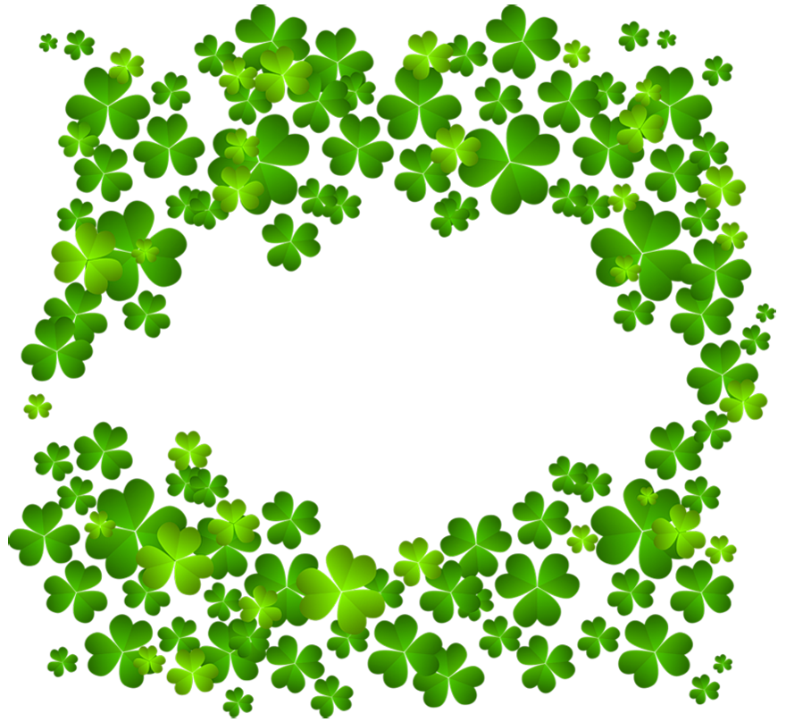 Crown leaf clover clipart. St patrick s day