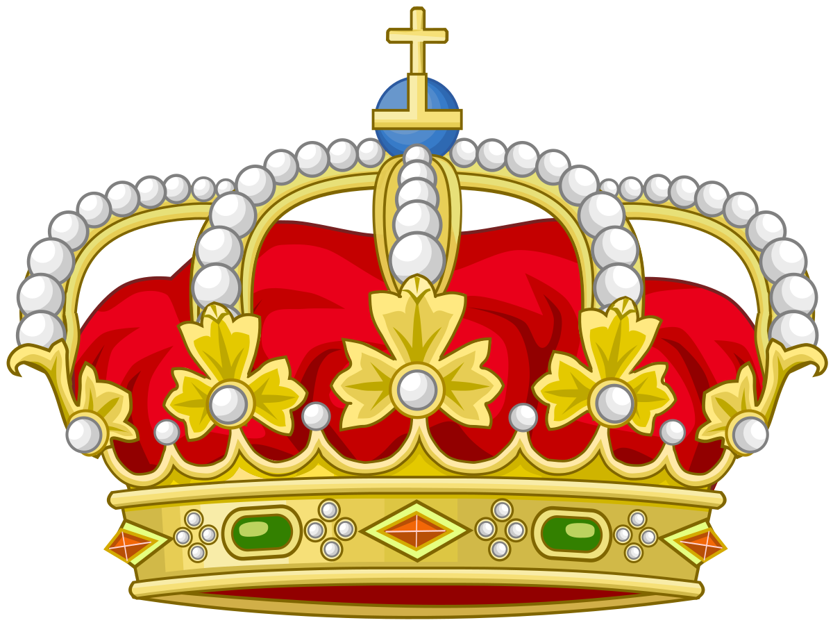 Crown made of branches clipart vector transparent Coat of arms of Barcelona - Wikipedia vector transparent