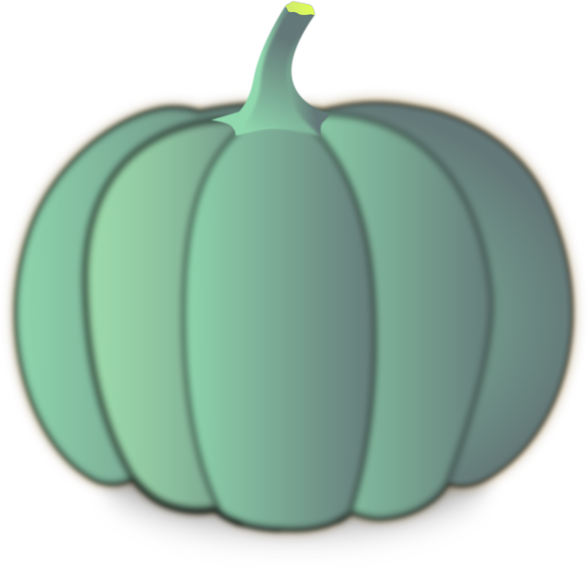 Little green pumpkin clipart picture royalty free library Clipart - A crown pumpkin picture royalty free library