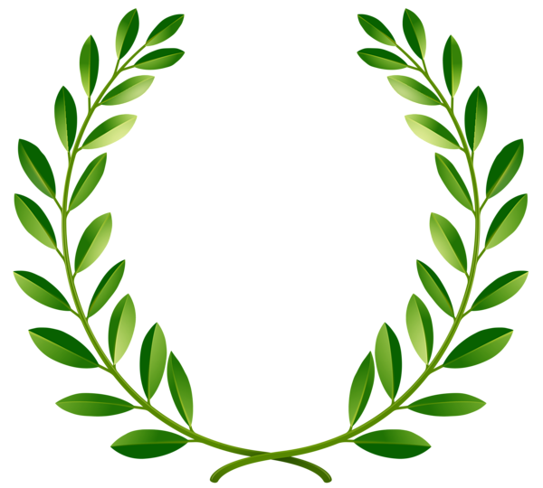Olive crown clipart vector stock Green Laurel Leaves PNG Clip Art Image | Confidence | Pinterest ... vector stock