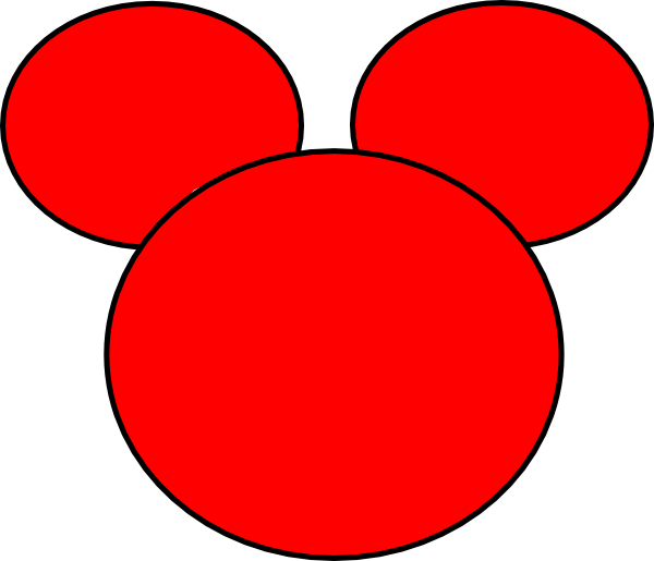 Mickey mouse head with crown clipart picture free library Mickey Mouse Silhouette Clip Art at GetDrawings.com | Free for ... picture free library