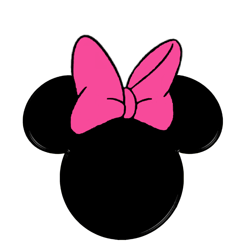 Minnie mouse crown ears clipart picture black and white stock Image detail for -Hat and Crown Mickey Heads :: Minnie Bow Head ... picture black and white stock