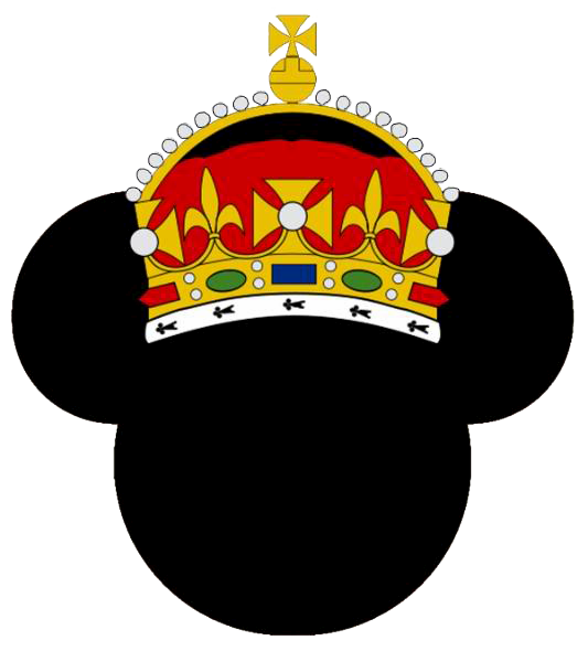 Mickey mouse head with crown clipart picture transparent Mickey Mouse Icons Clipart picture transparent