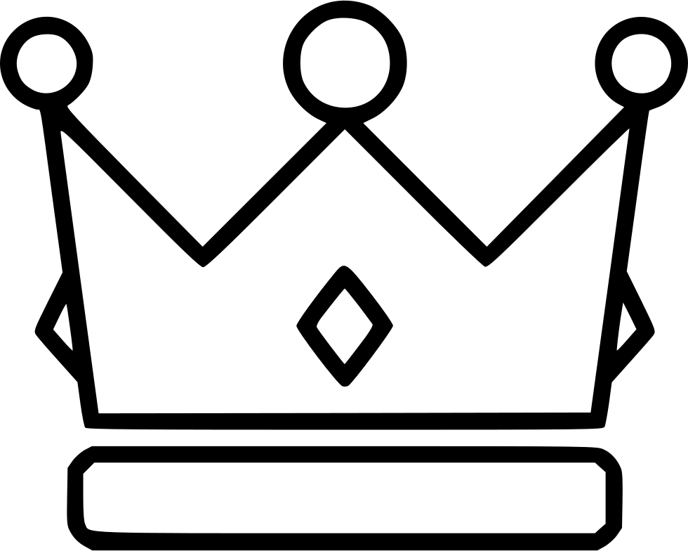 Crown modern outline clipart picture freeuse stock Chaplet Crown King Queen Wreath Svg Png Icon Free Download (#514020 ... picture freeuse stock