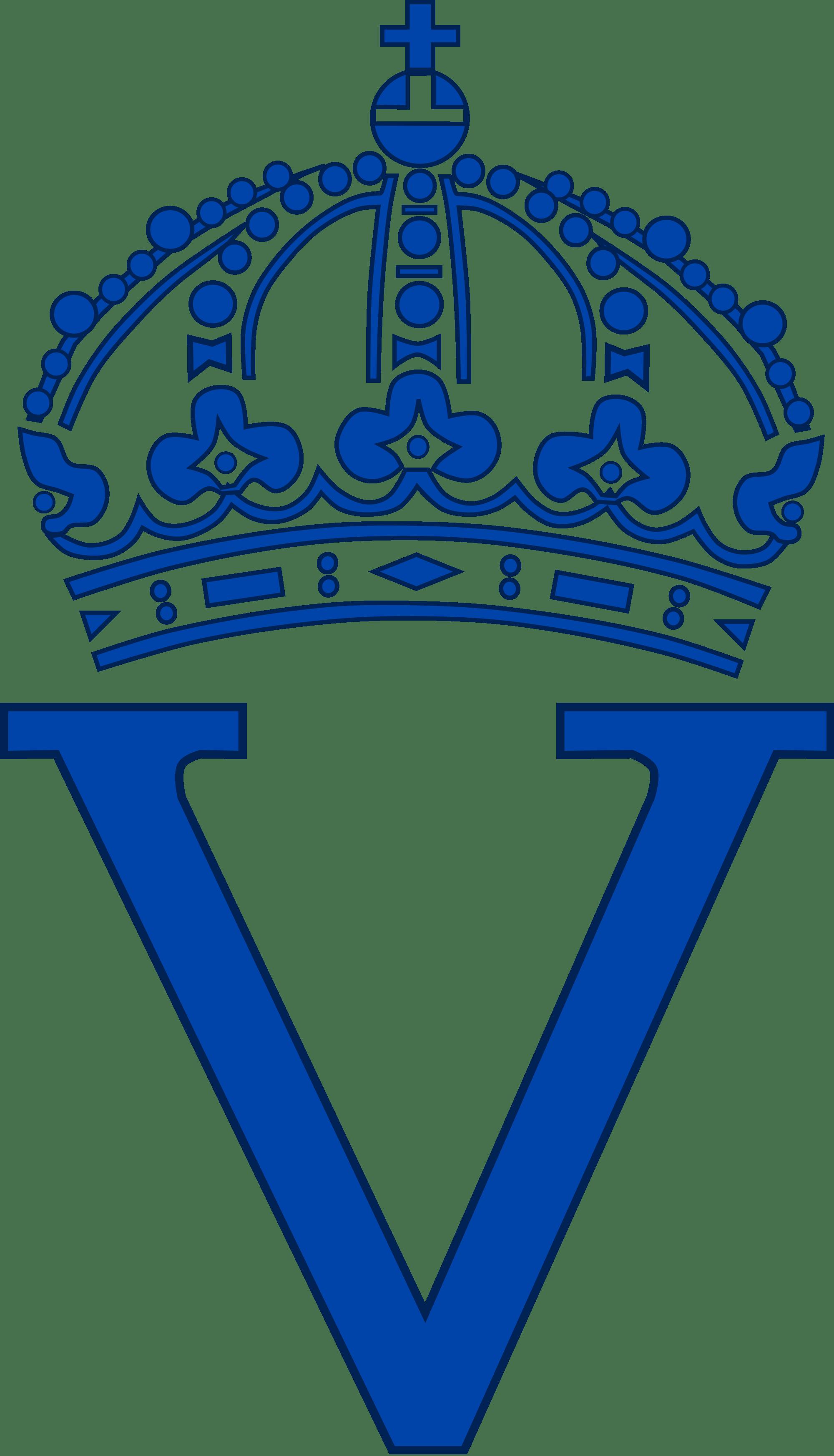 Royal monogram queen victoria. Crown vic clipart