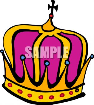Crown of a king clipart clip royalty free download King's Crown - Royalty Free Clip Art Picture clip royalty free download