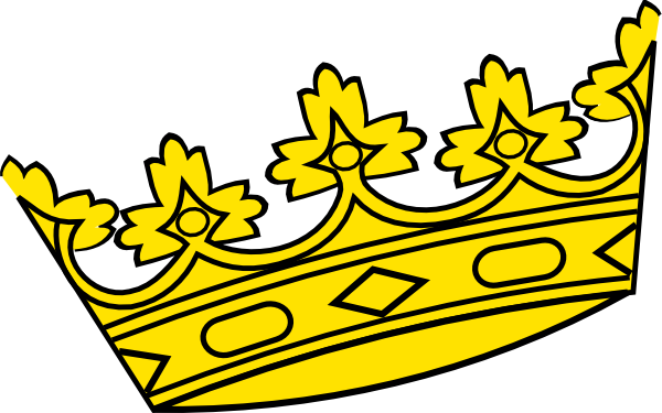 Crown of a king clipart vector library library Clipart king crown - ClipartFest vector library library