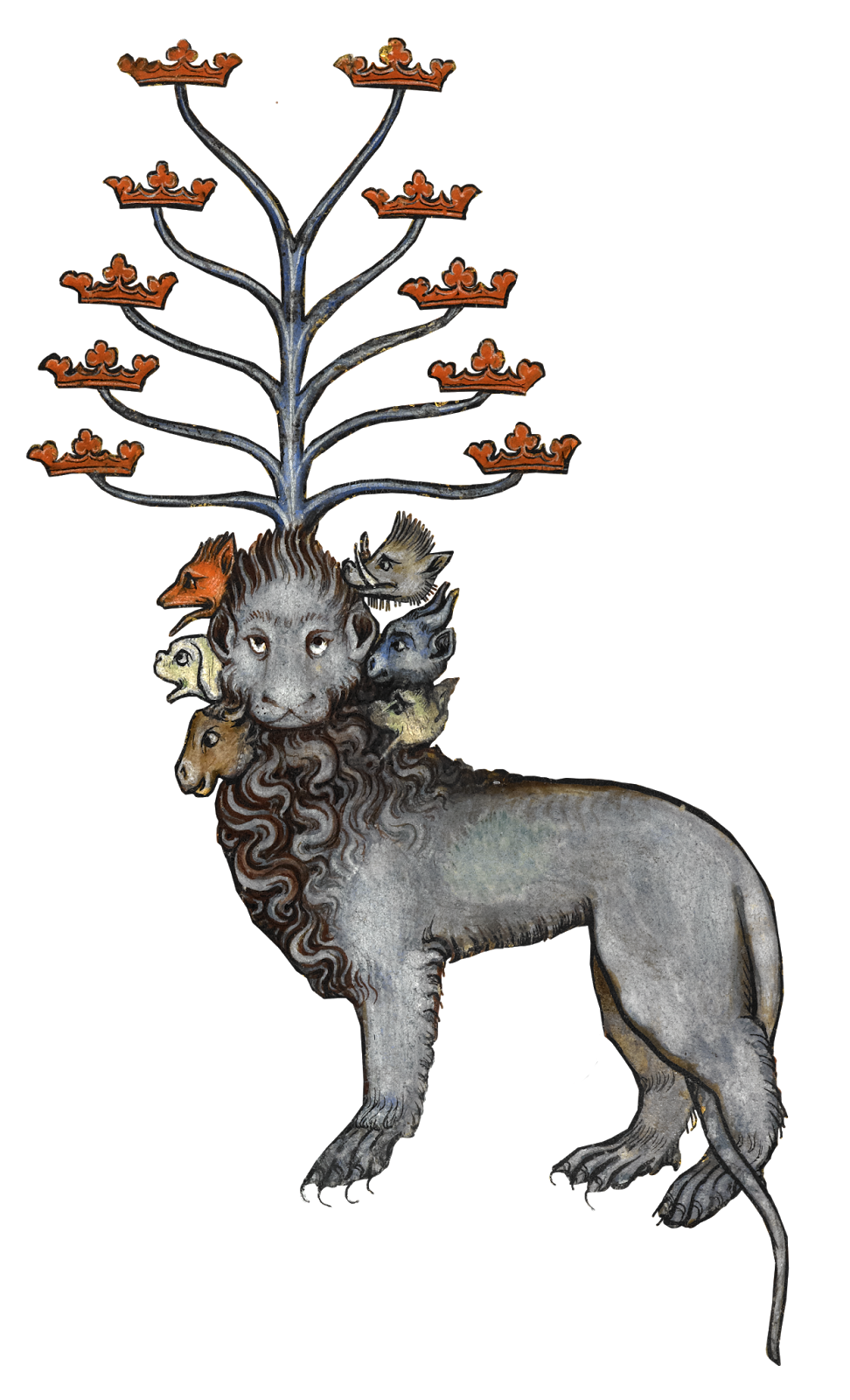 Crown of castile cat clipart small picture png royalty free stock An end days vision: six heads and ten horns with multiple crowns ... png royalty free stock