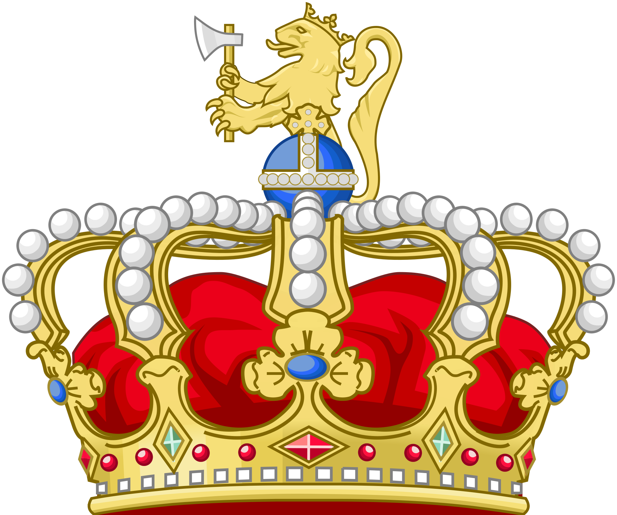 Crown of castile cat clipart small picture vector free download Heraldic crown of the King of Norway | Crowns | Pinterest vector free download