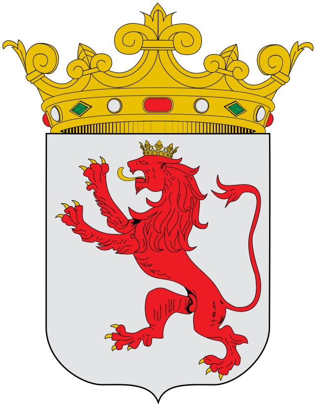 Crown of castile cat clipart small picture clipart transparent stock Escudo de León - España. León es una provincia española ... clipart transparent stock