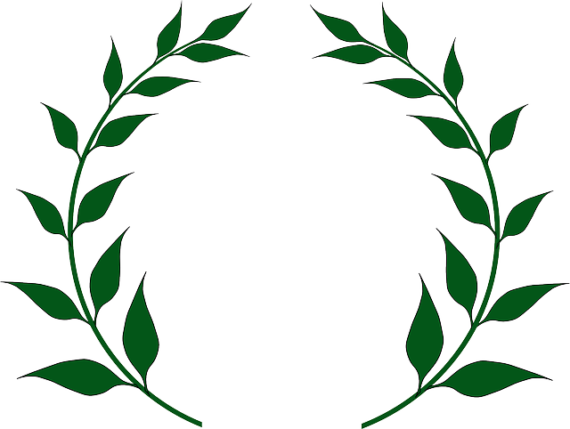 Crown of leaves rome clipart. Greece olive branch free