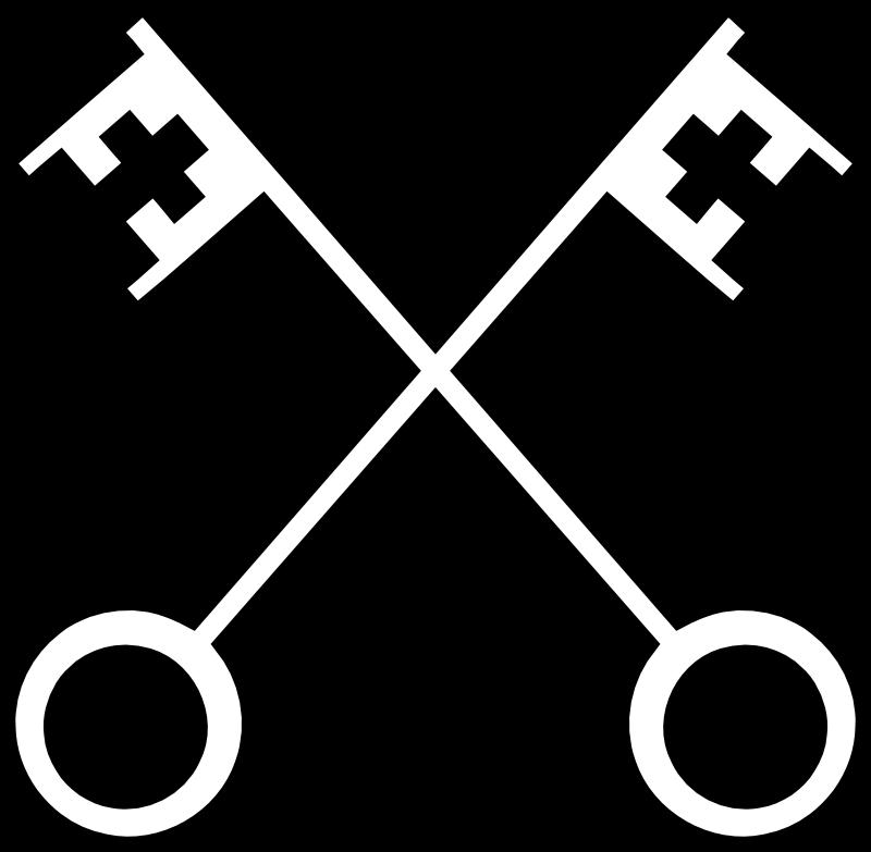 Catholic church symbols panda. Crown of leaves rome clipart