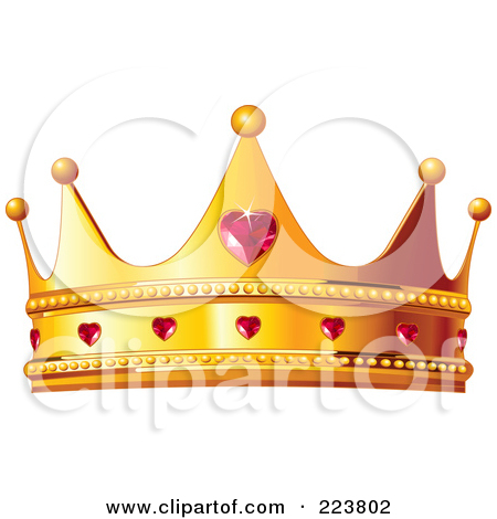 Clipartfest a golden with. Crown of queen clipart