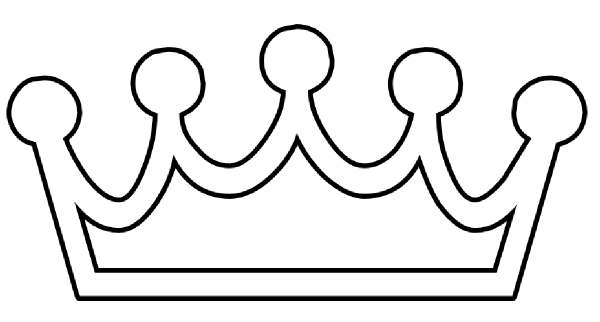 King and crowns panda. Crown of queen clipart