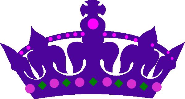 Kid purple queens clip. Crown of queen clipart
