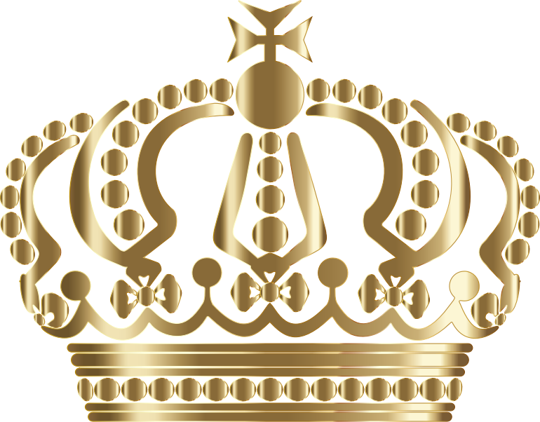 Queen with crown clipart clip art free stock Gold Queen Crown - Encode clipart to Base64 clip art free stock