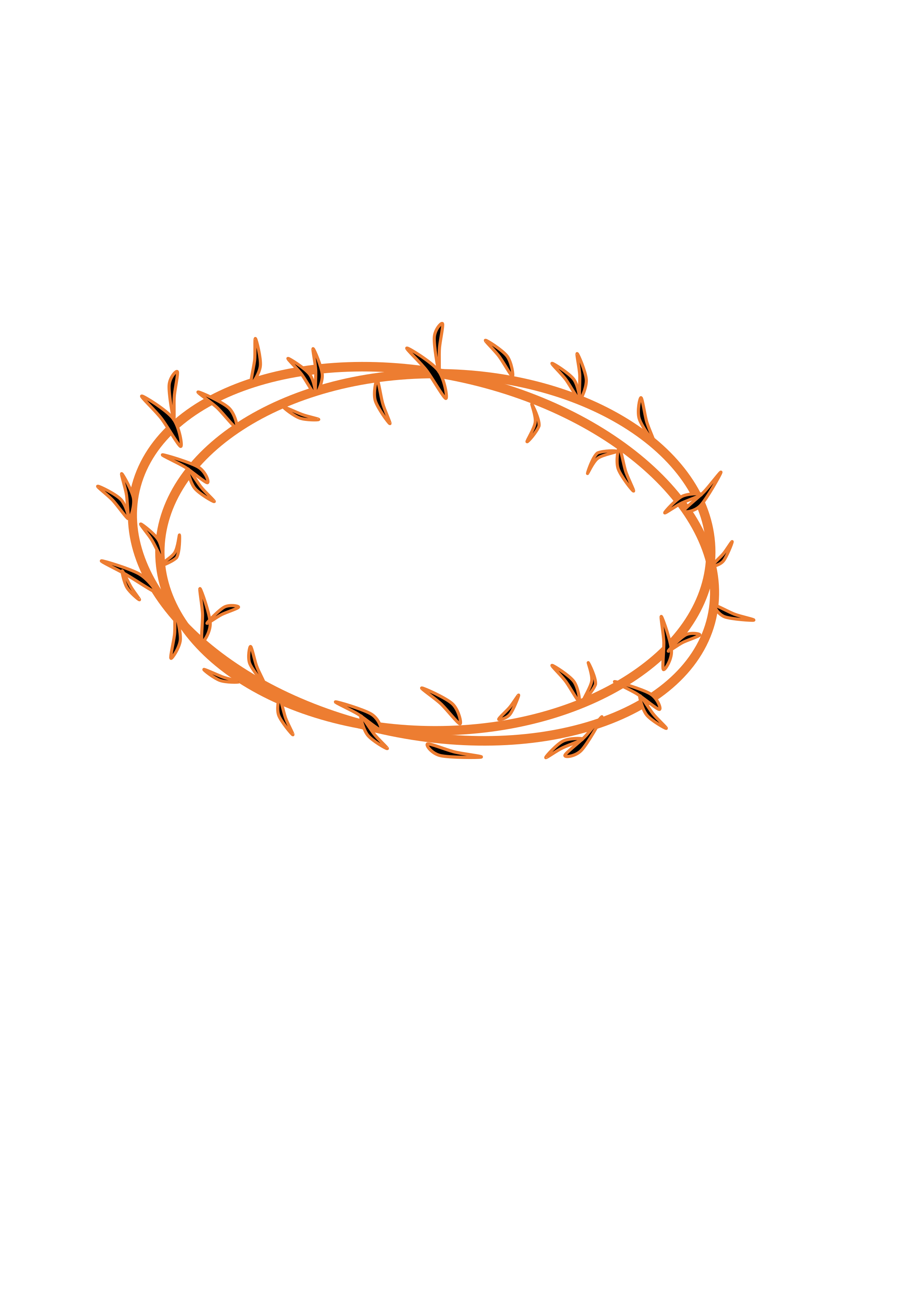 Crown of thorns transparent background clipart stock Or thorns composed Icons PNG - Free PNG and Icons Downloads stock