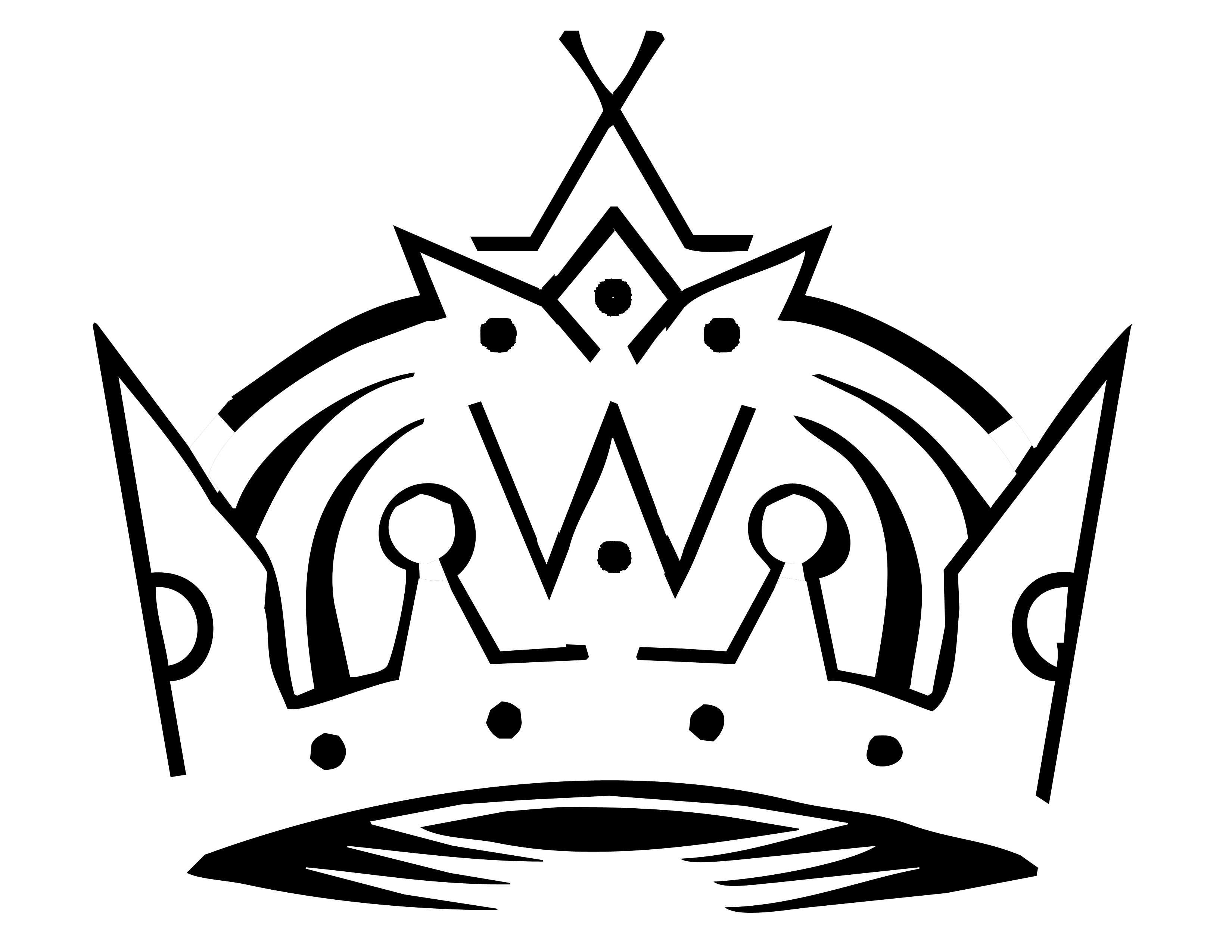 Crown outline logo clipart vector royalty free Crown Outline Template | Free Download Clip Art | Free Clip Art ... vector royalty free