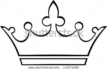 Crown outline logo clipart vector freeuse stock Simple Crown Outline | Clipart Panda - Free Clipart Images vector freeuse stock