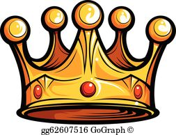 Crown photos clipart banner freeuse library Crown Clip Art - Royalty Free - GoGraph banner freeuse library