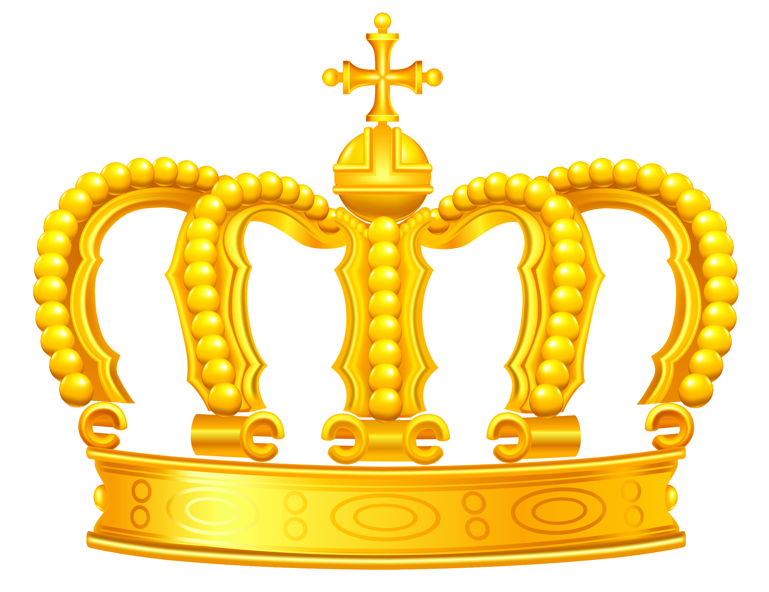 Fancy crown clipart clip black and white stock Gold Crown PNG Clipart clip black and white stock