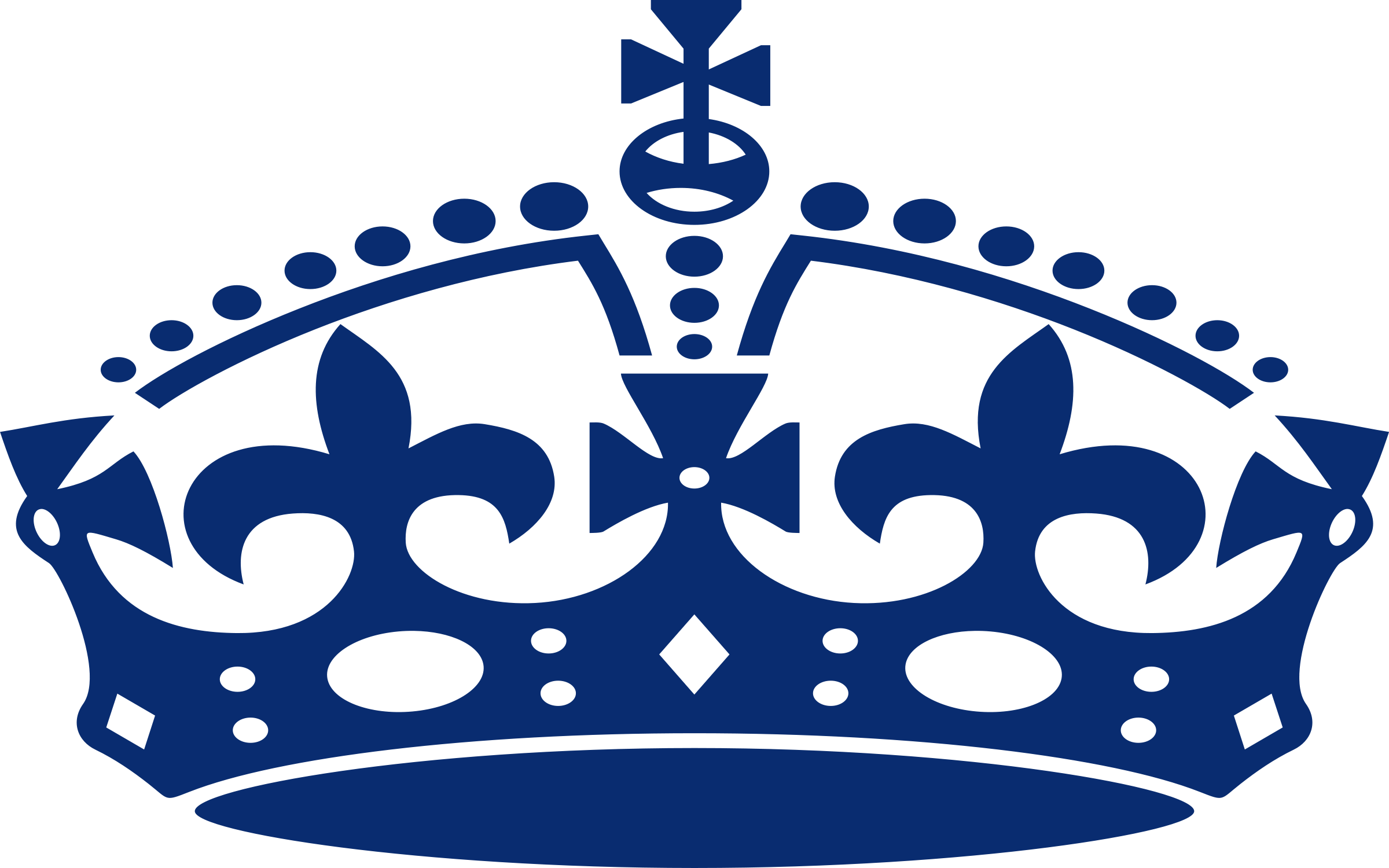Crown png clipart image black and white download Blue Crown.png - ClipArt Best image black and white download