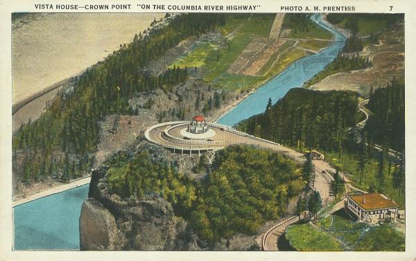 Clipartfest penny postcard . Crown point