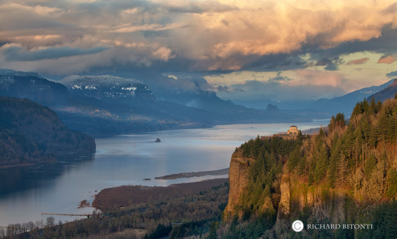 Crown point jpg royalty free library Crown Point Sunset : Crown Point, Columbia River Gorge, Oregon ... jpg royalty free library
