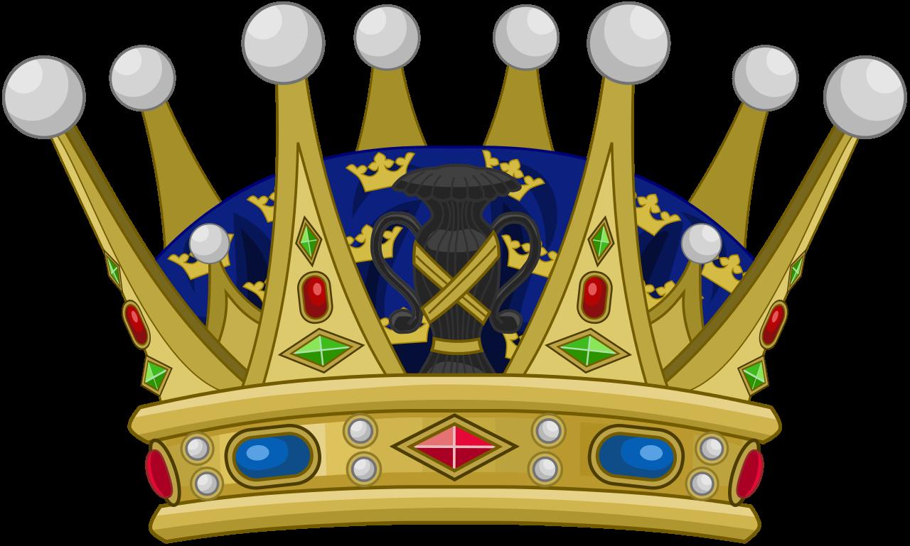 Crown prince clipart clip art File:Heraldique Suede Couronne Prince Héritier.svg - Wikimedia Commons clip art
