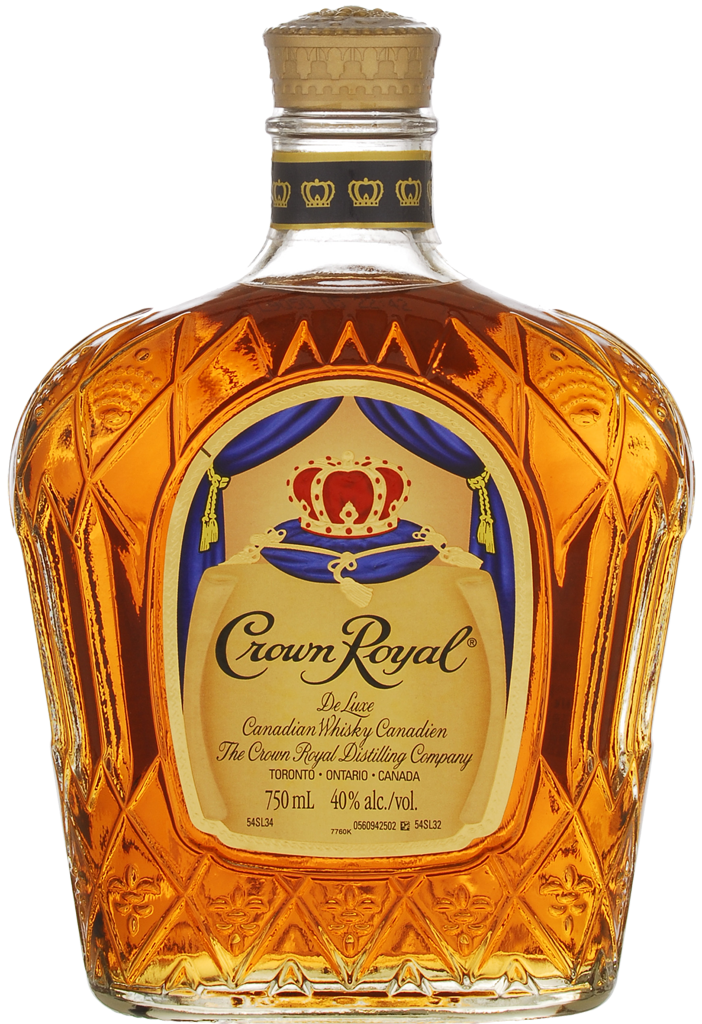 Crown royal bottle clipart clip art black and white library Crown Royal Deluxe Canadian Whisky - 1487 | Manitoba Liquor Mart clip art black and white library