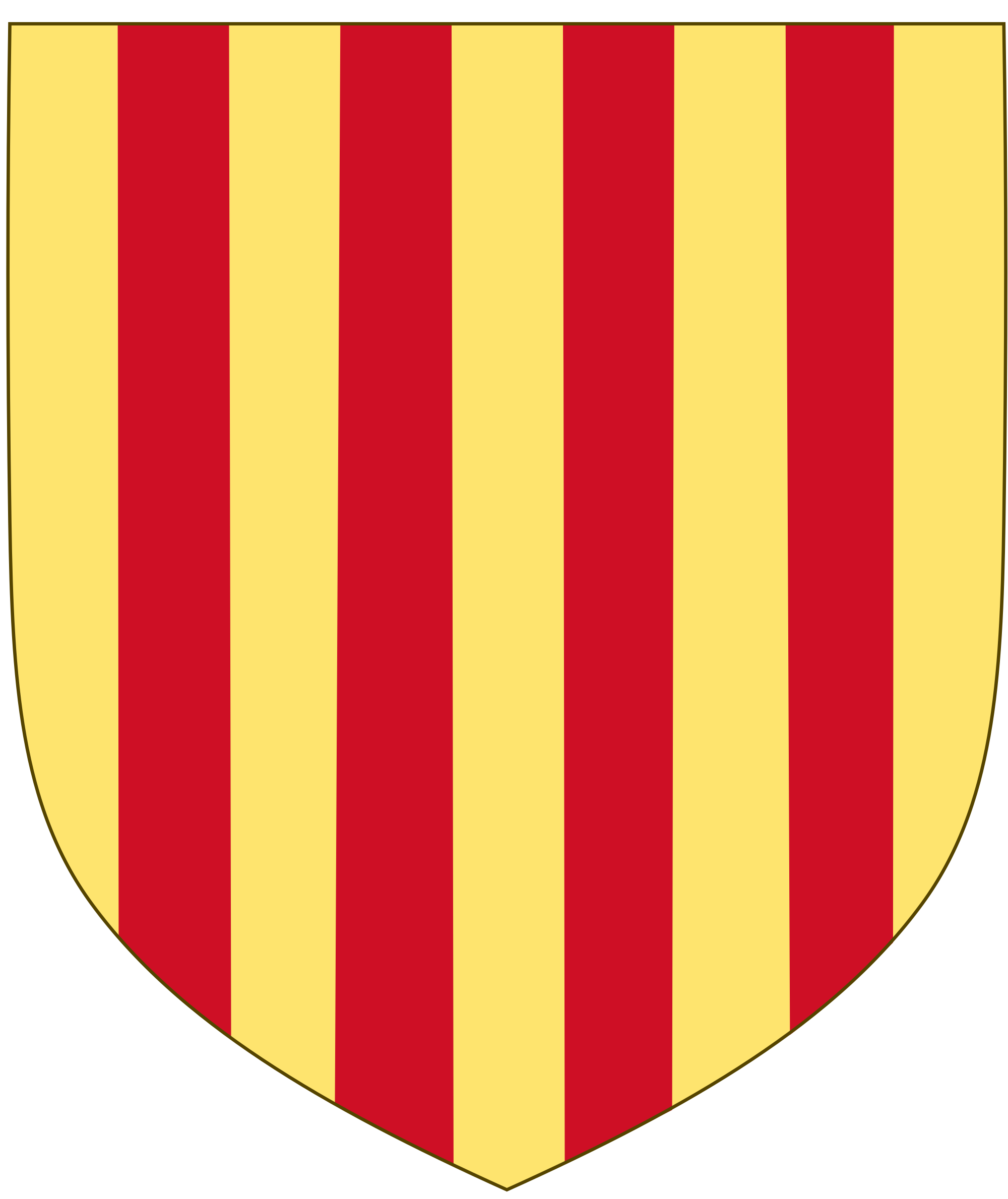 Crown royalstripes clipart clip freeuse library File:Royal arms of Aragon.svg - Wikimedia Commons clip freeuse library