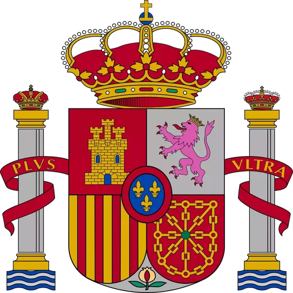 Crown royalstripes clipart graphic transparent stock What does the symbol in Spain's flag mean? - Quora graphic transparent stock