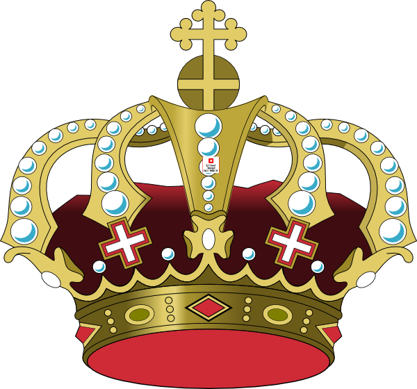 Lion with a king crown clipart graphic free download Palace Crown 2 Clip Art at Clker.com - vector clip art online ... graphic free download