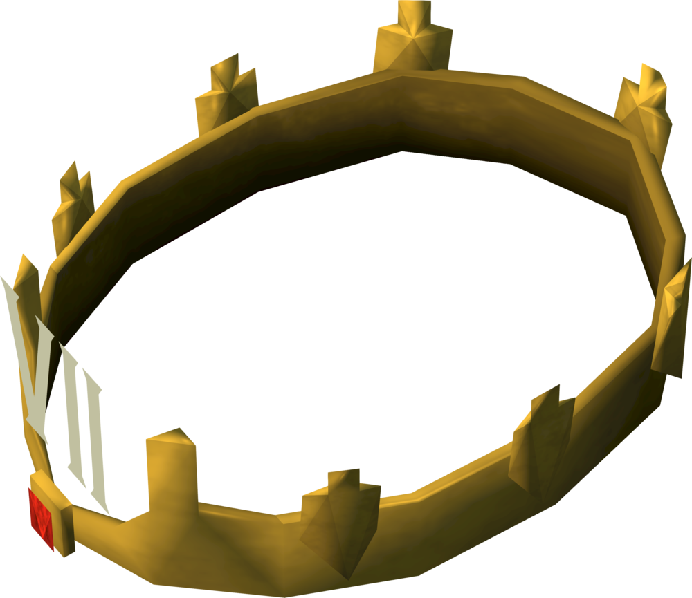 Crown with 3 points clipart banner black and white Crown of Loyalty (7 year) | RuneScape Wiki | FANDOM powered by Wikia banner black and white