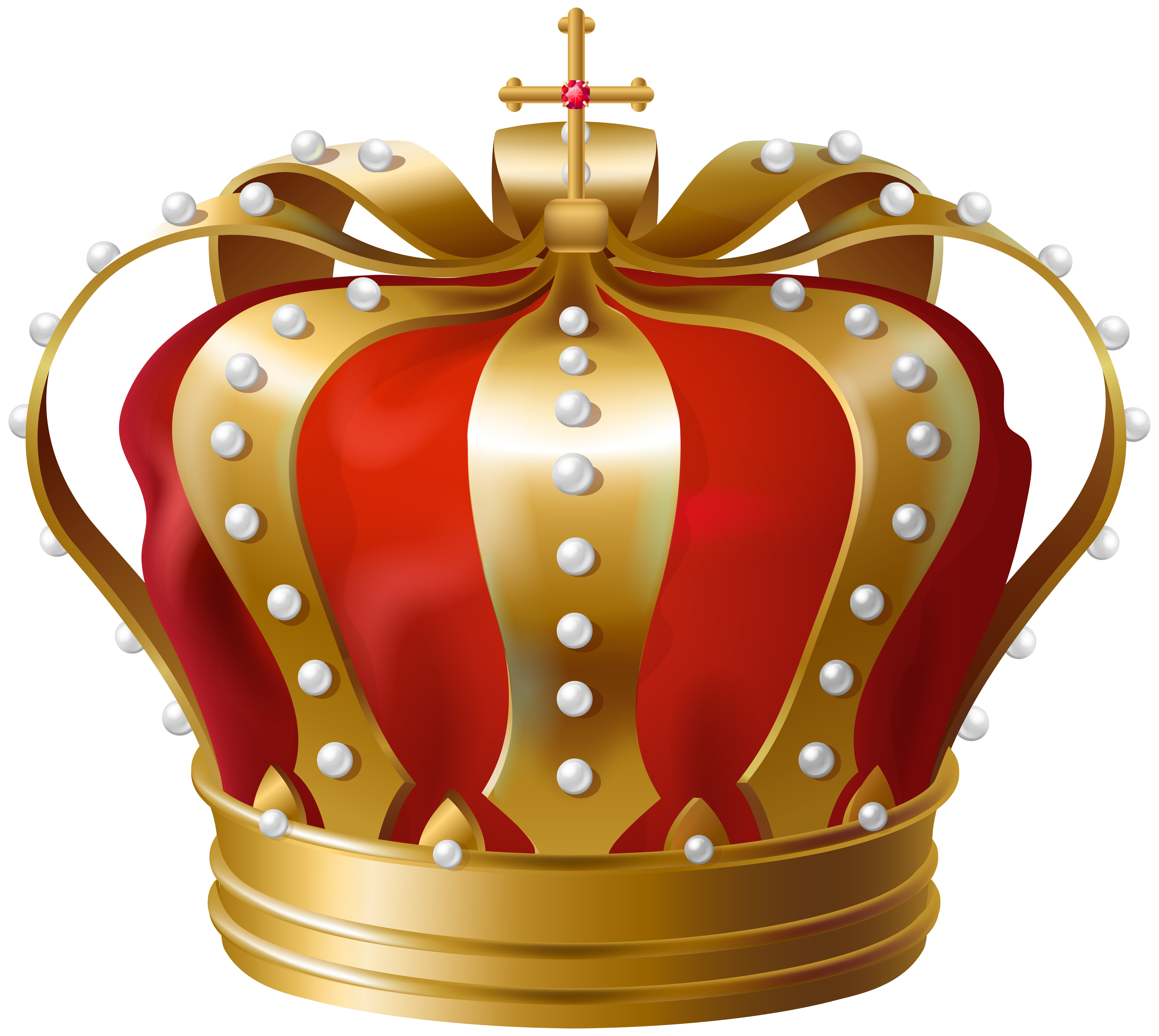 Crown with a 5 clipart banner royalty free library Crown Transparent PNG Clip Art Image | Gallery Yopriceville - High ... banner royalty free library