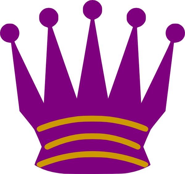 Gold purple crown clipart picture royalty free Purple And Gold Queen Clip Art at Clker.com - vector clip art online ... picture royalty free