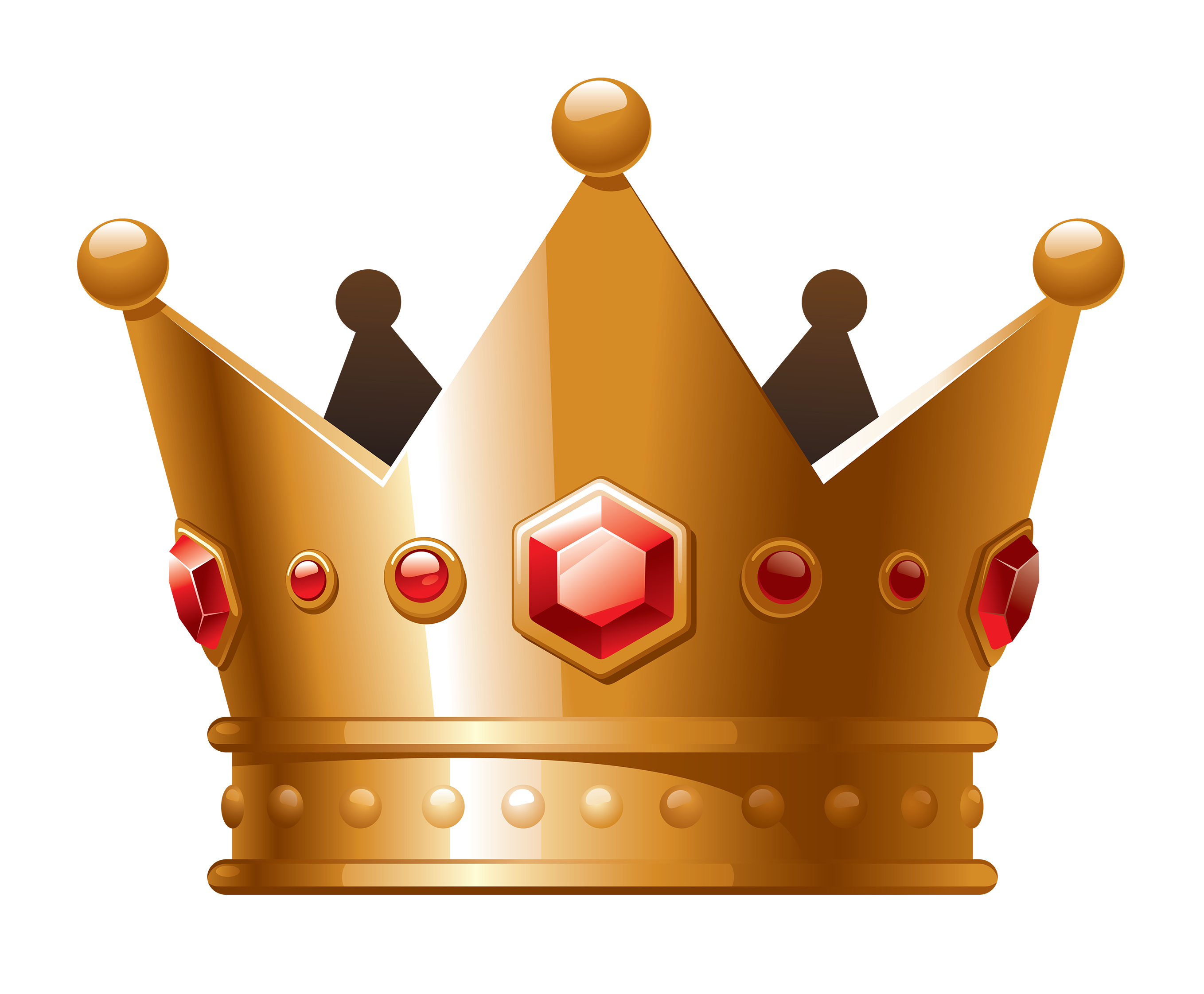 Crown with red jewels clipart vector freeuse Crown Clip art - Cartoon crown jewels 2717*2244 transprent Png Free ... vector freeuse