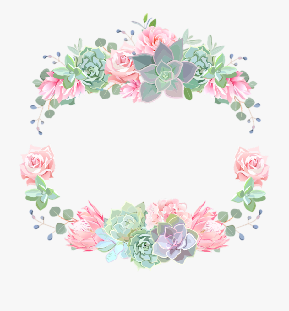 Crownflower clipart image Flower Crown Clipart - Watercolour Flower Crown Png #1281 - Free ... image