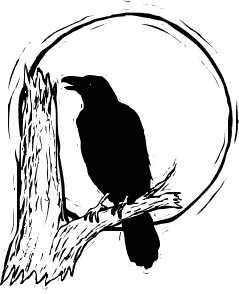 Crowonbranch clipart image freeuse download Raven Bird Clipart | Free download best Raven Bird Clipart on ... image freeuse download