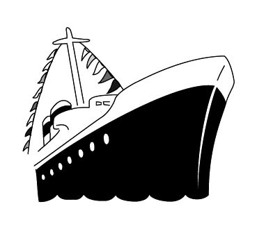 Cruise ship black and white clipart svg stock Free Cruise Cliparts, Download Free Clip Art, Free Clip Art on ... svg stock