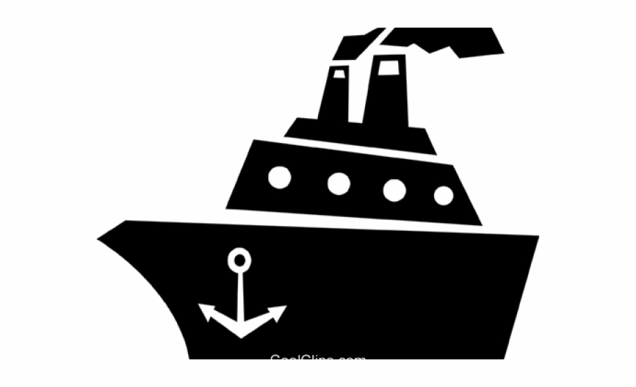 Cruise ship black and white clipart clip art freeuse stock Cruise Ship Clipart Black And White, Transparent Png Download For ... clip art freeuse stock