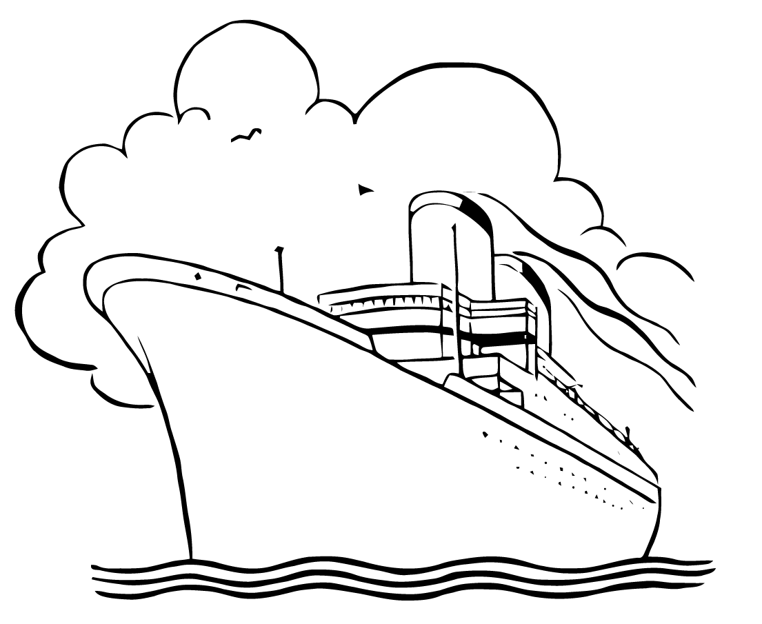 Cruise ship black and white clipart freeuse library Cruise ship black and white clipart clipartfox - Cliparting.com freeuse library