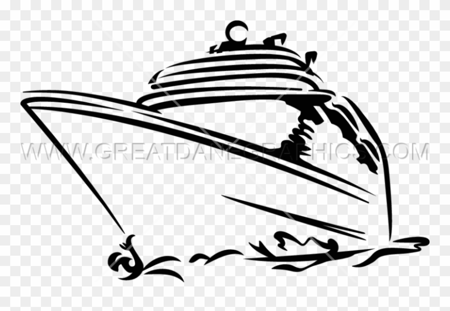 Cruise Ship - Silhouette Ship Cruise Images Clip Art - Png ... graphic transparent