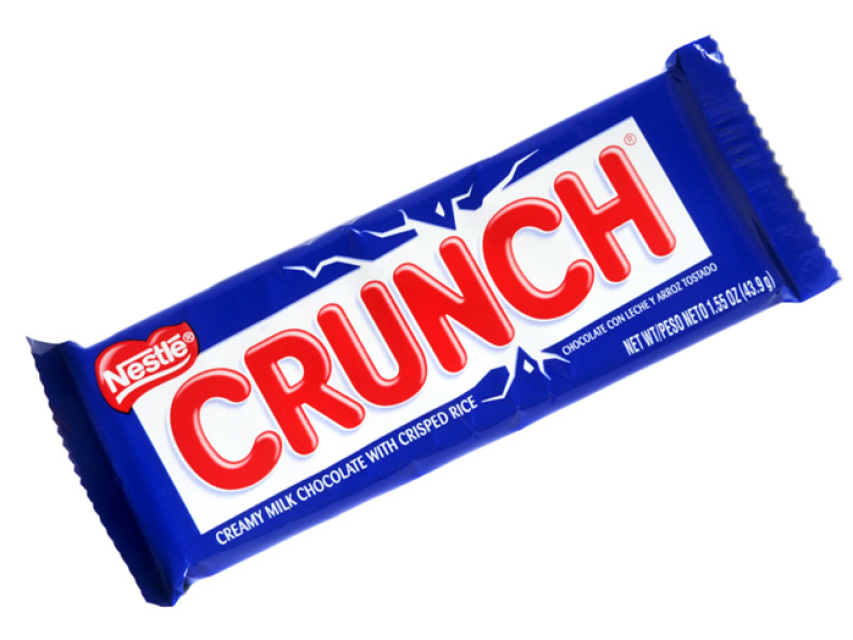 Crunch candy clipart clip library stock Nestle Crunch clip library stock