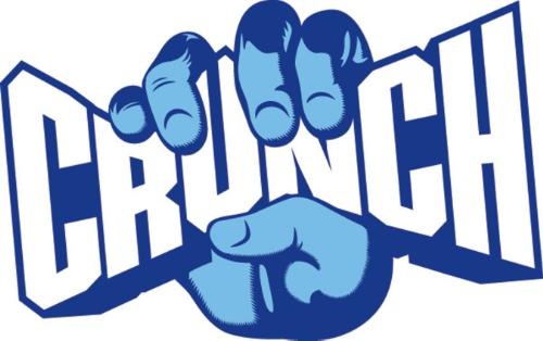 Crunch Logos picture royalty free stock
