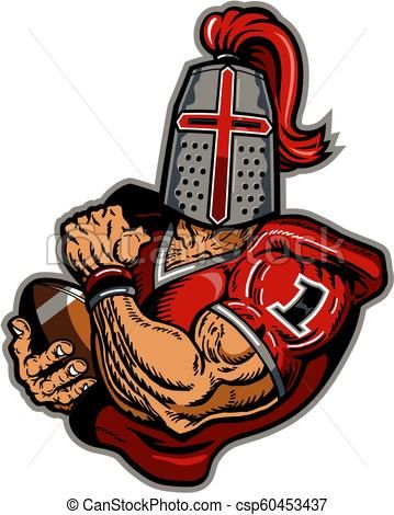 Crusader clipart png free crusader football - csp60453437   earl ferguson clipart   Football ... png free