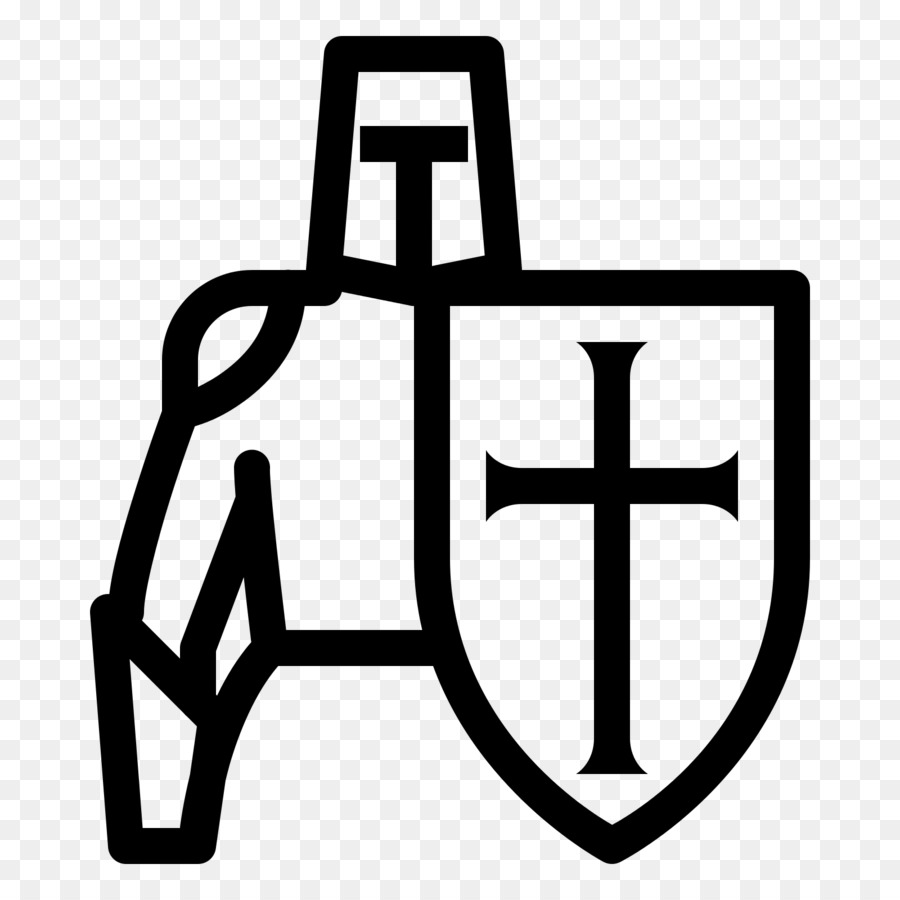 Crusader clipart svg black and white library Download Icon png download - 1600*1600 - Free Transparent Crusades ... svg black and white library